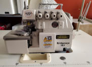 4 thread overlock machine. Call 902 543 8593 or email info@bridgewatersewingcentre.com for more info
