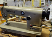 Reconditioned Brother oil fed lock stitch machine