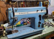 Reconditioned Singer 20 U straight stitch zig zag industrial sewing machine. Call 902 543 8593 or message for more information.