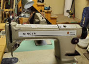 Singer 191 straight stitch industrial sewing machine.  Call 902 543 8593 for more information..