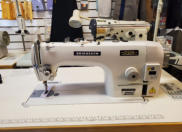Bridgesew PB-0303D - Direct Drive Heavy Duty Top and Bottom Feed Lockstitch Sewing Machine.